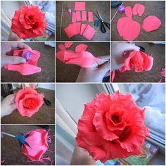 Lubiartes: Flores de papel