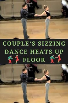 Bear witness as two of the greatest West Coast Swing dancers glide across the floor, creating one of the sexiest performances you'll ever witness. It's not the Lambada or the Forbidden Dance … no this is straight-up West Coast Swing. #dance #entertainment