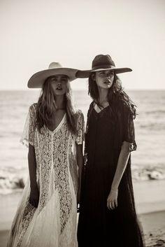 simple dress + hat