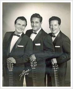 Trío Los Panchos. Músicos románticos mexicanos, sus temas fueron especialmente boleros.