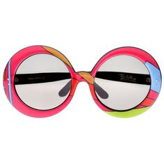 Pair of  1960's Emilio Pucci Sunglasses | From a collection of rare vintage sunglasses at http://www.1stdibs.com/fashion/accessories/sunglasses/