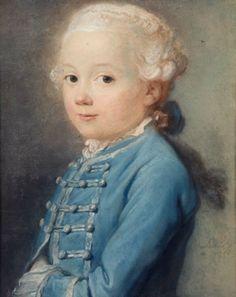 Portrait of a Young Boy (said to be Marc Réné de Heere)  1760 Simon Bernard Le Noir(French, 1729–1789)