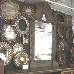 Mirrors...mirrors...mirrors....on the wall!