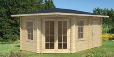 Das Gartenhaus Arubna 2a bietet mit seinen etwa 11 m² Nutzfläche genügend Stauraum für Gartenmöbel oder Gartengeräte. #gartenhaus #aruba