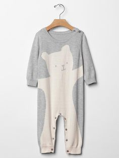 Animal sweater one-piece Product Image