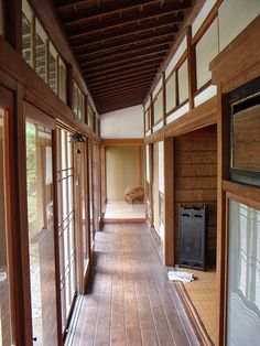 traditional japanese farmhouse | Traditional Japanese farmhouses: wood and straw | ouno