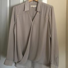 MK top One button missing on the cuff of the sleeve but I think I have it just gotta find it  MICHAEL Michael Kors Tops