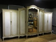 A massive 19th century French armoire