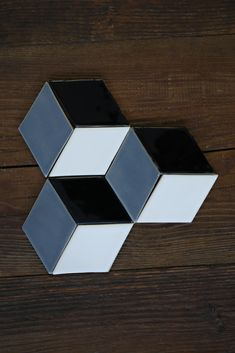 Handmade tiles with 3D efect