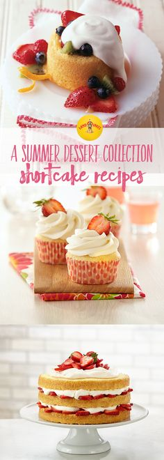 Shortcake is the perfect dessert for summer nights. It's light, filled with fresh fruit, and easy to make.