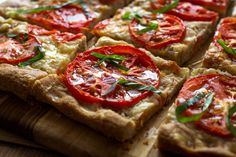 Whole Wheat Focaccia With Tomatoes and Fontina [via nytimes.com] #oliveoil #recipe