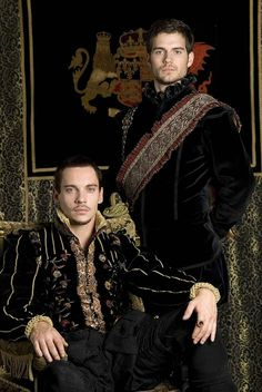 This looks like something I should add to my to watch list!!! Jonathon Rhys Meyers & Henry Cavill (The Tudors)