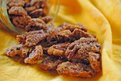Sweet 'N Spicy Candied Pecans from @Juanita's Cocina