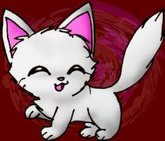 Random White cat plz by MaplerofSyrup.deviantart.com on @deviantART