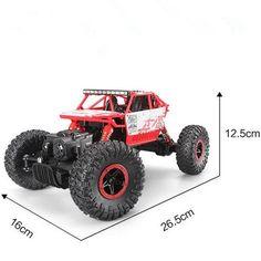 New RC Car 4WD 2.4GHz Rock Crawlers Rally climbing Car 4x4