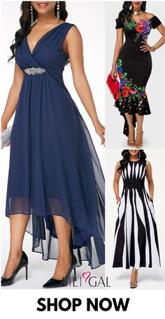 Modest Spring Summer Dresses For Women 2019 - - modest spring summer dresses for women, navy blue chiffon dress, black floral mermaid dress, stripe print high waisted long dress, classy dress for wedding guest. Source by liligalwomensfashion Blue Chiffon Dresses, Modest Dresses, Sexy Dresses, Dress Outfits, Evening Dresses, Casual Dresses, Fashion Dresses, Club Party Dresses, Frack