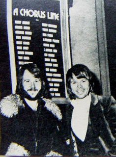 "London, January 1977 Björn, Benny, Stig and Thomas Johansson went to  London for final discussions before the  forthcoming tour and the group's concerts at the  Royal Albert Hall. Björn and Benny went to see the  musical ""A chorus line"". It was announced that  ABBA would perform a mini musical during their 1977 tour."