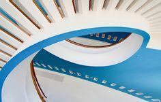 Escalera, en Berlín, Alemania
