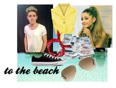 """""""to the beach."""" by nat179 on Polyvore"""