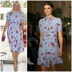 Crown Princess Mette Marit in By Ti Mo Hollywood Fashion, Royal Fashion, Sexy Dresses, Estilo Real, Royal House, Style Icons, Evening Gowns, Womens Fashion, Ladies Fashion