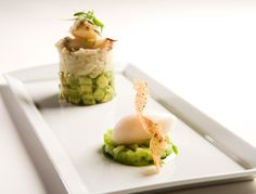 Dungeness crab salad with avocado at One Market Restaurant. (Photo courtesy of John A. Benson)