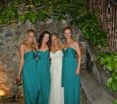 bridesmaid dresses JADE color