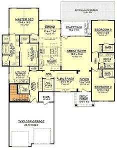 This craftsman style house plan has an amazing floor plan. The private master suite offers a large soaking tub and glass shower enclosure with a walk in closet. Craftsman Style House Plans, Cottage House Plans, Modern House Plans, House Floor Plans, Craftsman Homes, Built In Dresser, Built In Furniture, Furniture Plans, Cheap Furniture