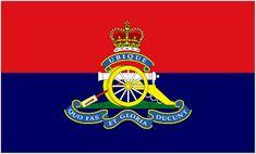 Royal Regiment of Artillery Camp Flag [3:5]
