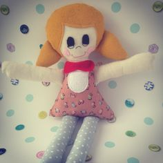 Rag Doll Craft Kit from Make with Annie