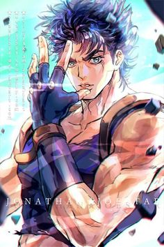 Manga Anime, Anime Guys, Anime Art, Anime Bebe, Jojo Anime, Jojo's Bizarre Adventure Anime, Jojo Bizzare Adventure, The Big Hero, Jonathan Joestar