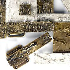 Bark Textures Luxury Handles by Haute Deco, London