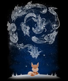 Eevee is a great pokémon: it teaches us that you become what you were being during your life; it is not a choice of fate.