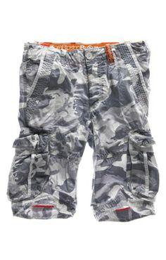 Superdry Shorts | White Camo!