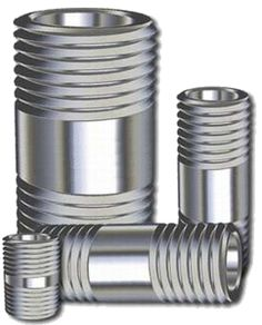 Stainless Steel Pipe Nipples #StainlessSteelPipeNipples Stainless steel conduit and fittings from a UL listed manufacturer is an increasingly important product today, given the tough new standards for health, safety, and corrosion-resistant materials used in places such as pulp & paper facilities, the waste water treatment industry, food preparation at every stage, water desalination and ozoninfication processes, and many other applications.