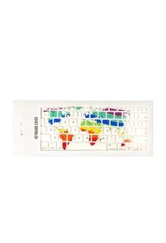 Multicolor Map Keyboard Case | Forever 21 #forever21home