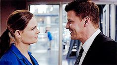 """Get to know me MEME - Favorite TV Shows: BONES """"""""And I guess… what goes on between us… that should just be ours. Best Tv Shows, Favorite Tv Shows, Bones Booth And Brennan, Bones Tv Series, Seeley Booth, Bones Quotes, Bones Show, Emily Deschanel, David Boreanaz"""