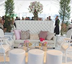Wedding Lounge Furniture | Let us help you plan all the details of your perfect day. www.PerfectDayWeddingPlanners.com