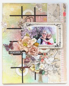 """Remember"" Canvas Layout by Gerry Van Gent 