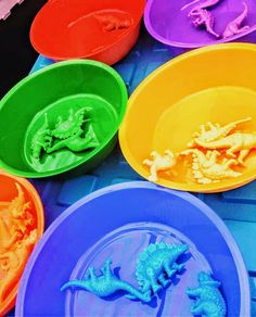 Colour Sorting Bowls