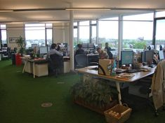 #innocentdrinks #style #green #space #office
