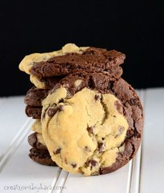 Combine brownies with chocolate chip cookies, and you have Brookies. An epic cookie that everyone will love!