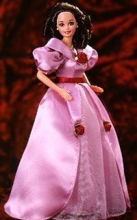Did you know that there is a Valentine Barbie doll? Actually there are several Valentine Barbies!