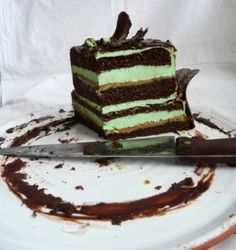 Cokoladovo pistaciova torta