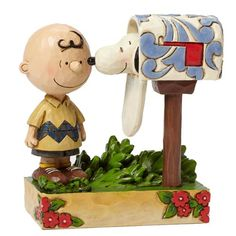 Peanuts Traditions Charlie Brown Special Delivery Statue - Enesco - Peanuts - Statues at Entertainment Earth