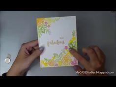 Maureen Wong: May C.A.S.E. Studies - You Are Fabulous Garden Gild Card with the Mini MISTI - 5/4/16.  (PTI stamps/die plate: Garden Guild).  (Pin#1: Dies/Stamps: PTI.  Pin+: Dies/ Stamps: Backgrounds).