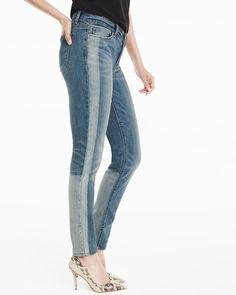 Tuxedo Stripe Skimmer Jeans