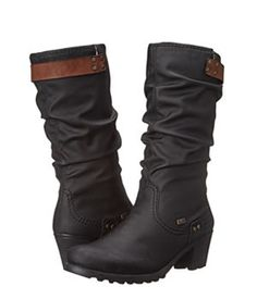 Designer Clothes, Shoes & Bags for Women Black Platform Boots, Side Zip Boots, Dress With Boots, Riding Boots, Purses, Shoe Bag, Heel Boots, Stuff To Buy, Shoes