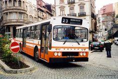 STCP 619 - SR-20-60 | 1977' Volvo B58-55 Caetano | Estação S. Bento, Porto Volvo, Grey Dog, Bus Coach, Busse, Bento, Old School, Portugal, Europe, Trucks
