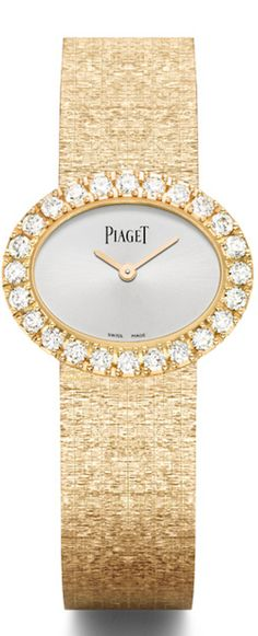 Piaget Traditional oval watches