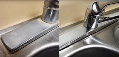 This Sink Cleaning Trick Will Remove Stains You Thought Were Impossible To Get Rid Of